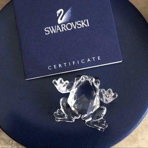 Frog Swarovski crystal